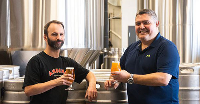 Brewer Magazine Interview with Owner Andrés Amaya